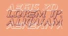 Aegis 3D Italic