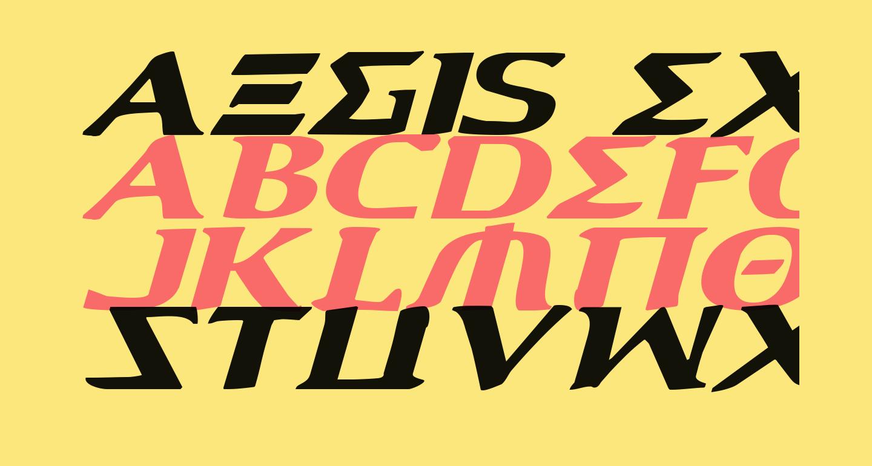 Aegis Expanded Italic