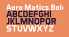 Aero Matics Bold