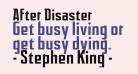 After Disaster