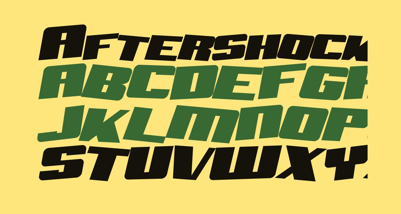 Aftershock Debris Solid Italic
