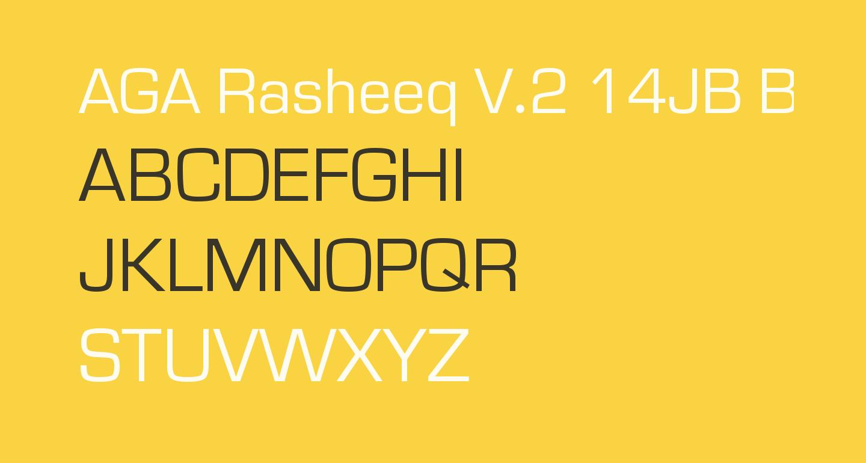 AGA Rasheeq V.2 14JB Bold