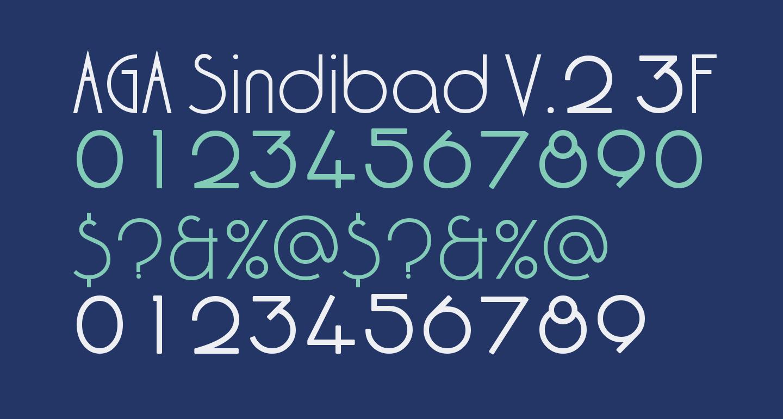 AGA Sindibad V.2 3F/['/