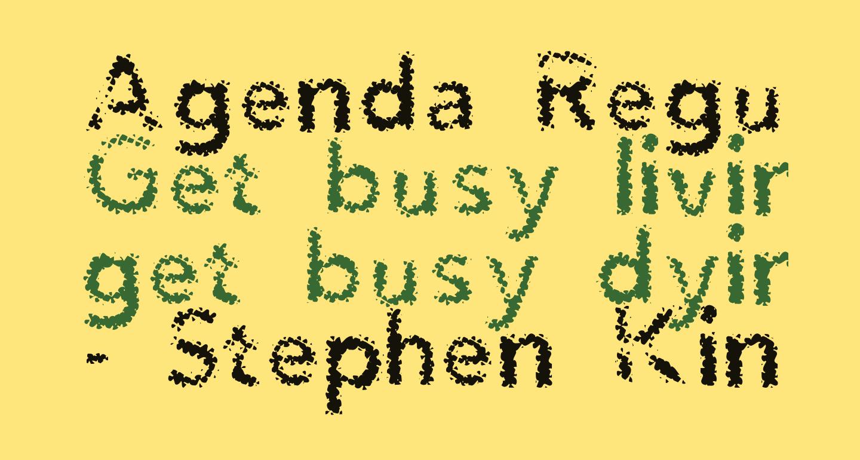 Agenda Regular