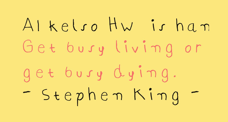 AI kelso HW  is handwriting