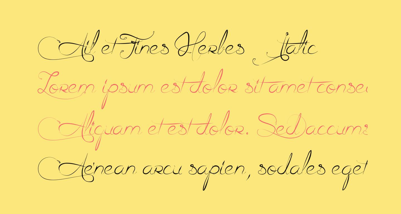 Ail et Fines Herbes Italic