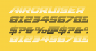 Aircruiser Gradient Italic