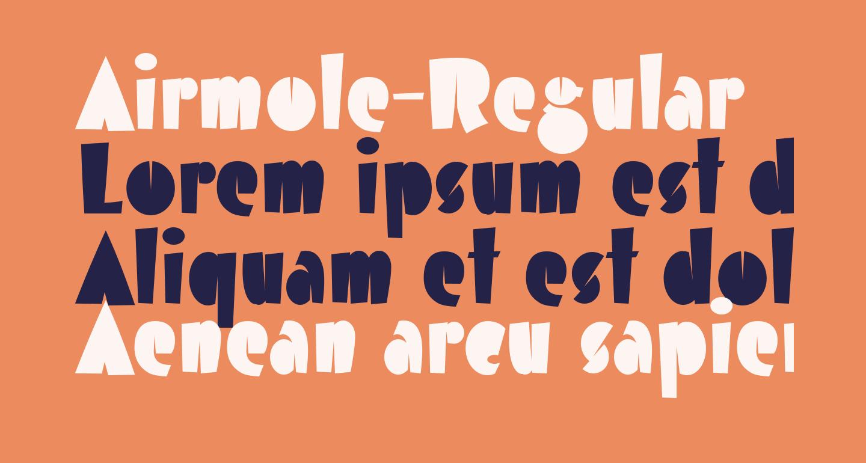 Airmole-Regular