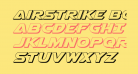 Airstrike Bold 3D