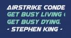 Airstrike Condensed