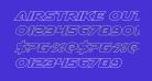Airstrike Outline Regular