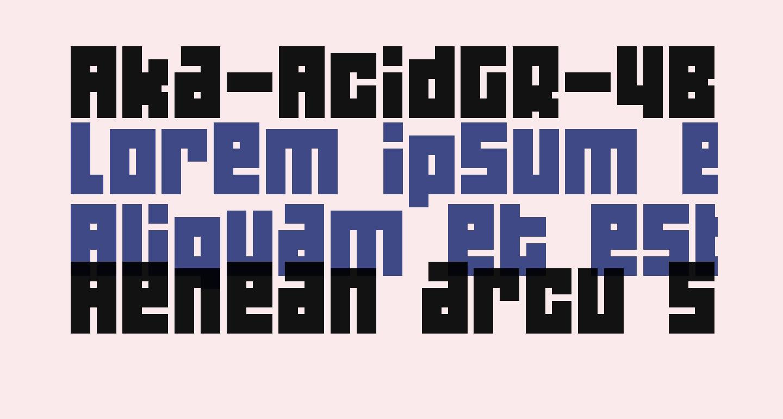 Aka-AcidGR-4B