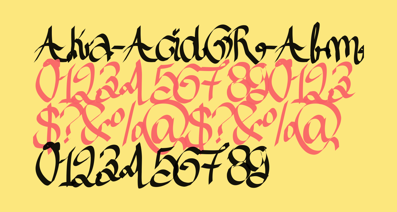 Aka-AcidGR-AlmostGothic