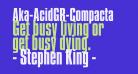Aka-AcidGR-Compacta