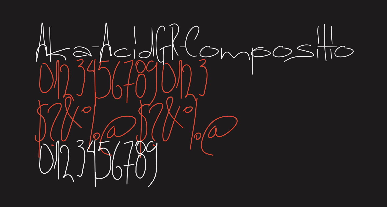 Aka-AcidGR-Composition