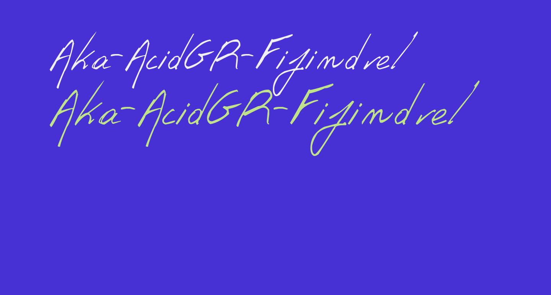 Aka-AcidGR-Fifindrel