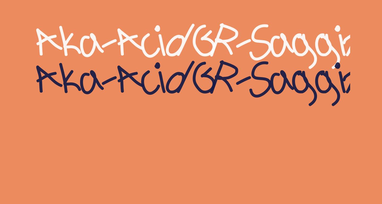 Aka-AcidGR-Sagging