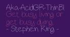 Aka-AcidGR-ThinBlackboard