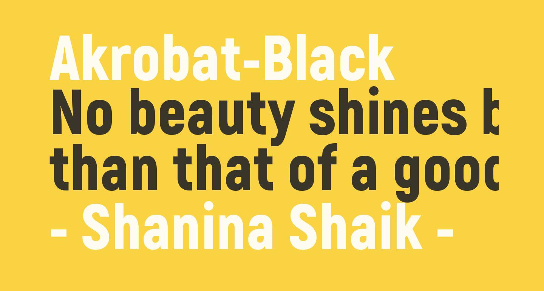 Akrobat-Black