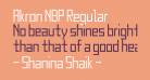 Akron NBP Regular