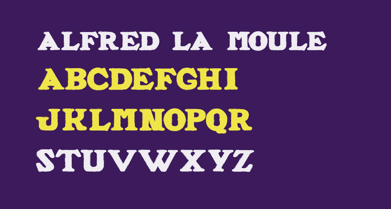 ALFRED LA MOULE