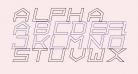 ALPHA    OUTLINE Italic