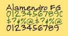 Alamendro FG