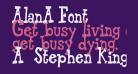 Alan-Font