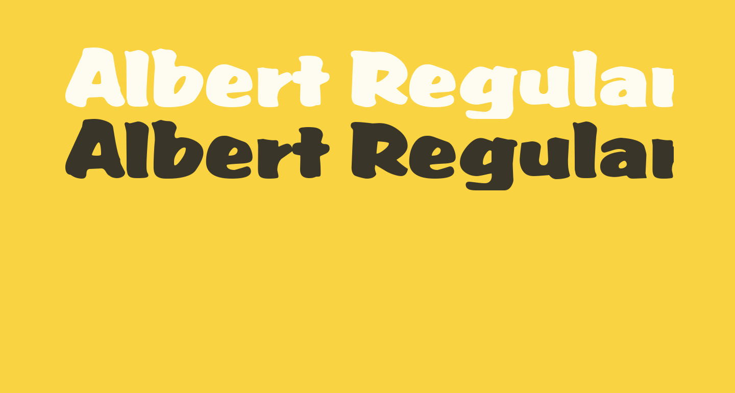 Albert Regular