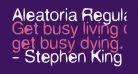 Aleatoria Regular