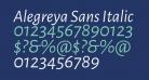 Alegreya Sans Italic