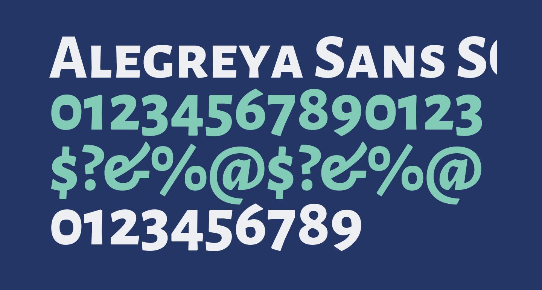 Alegreya Sans SC ExtraBold