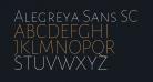 Alegreya Sans SC Thin