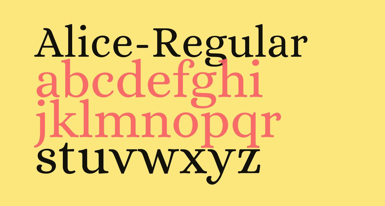 Alice-Regular