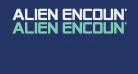 Alien Encounters Solid