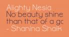Alighty Nesia