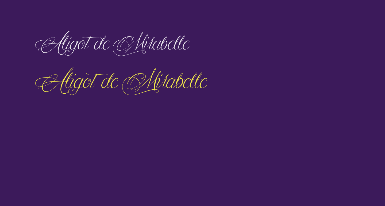 Aligot de Mirabelle