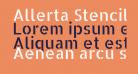 Allerta Stencil