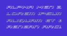 Alpha Men 3D Italic