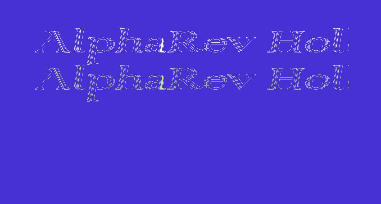 AlphaRev Hollow