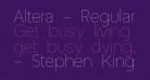 Altera - Regular