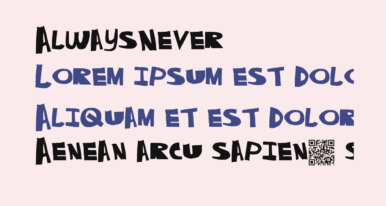 AlwaysNever