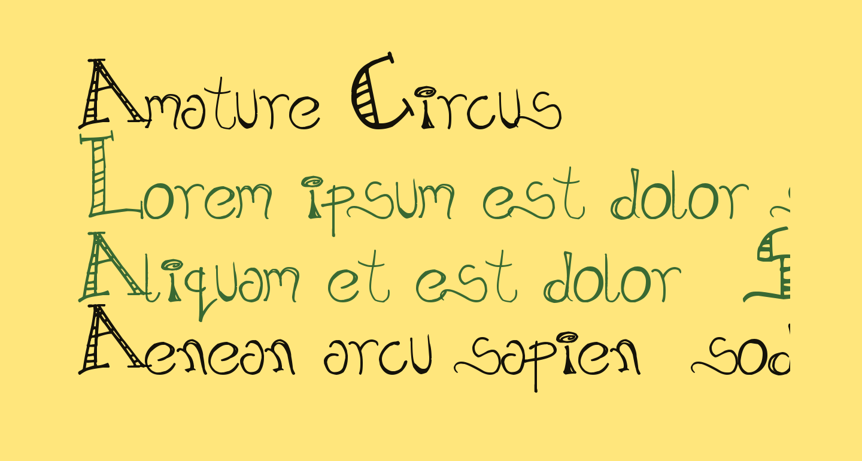Amature Circus