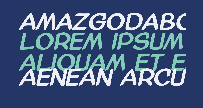 AmazGoDaBold
