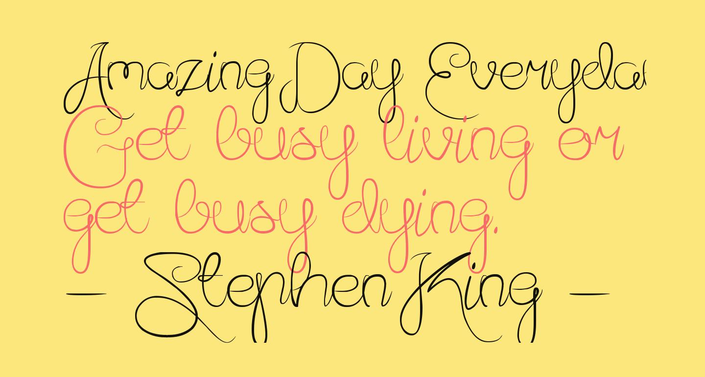 Amazing Day Everyday