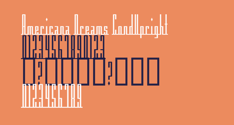 Americana Dreams CondUpright