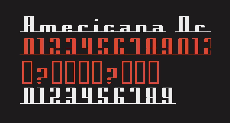 Americana Dreams ExpUpright