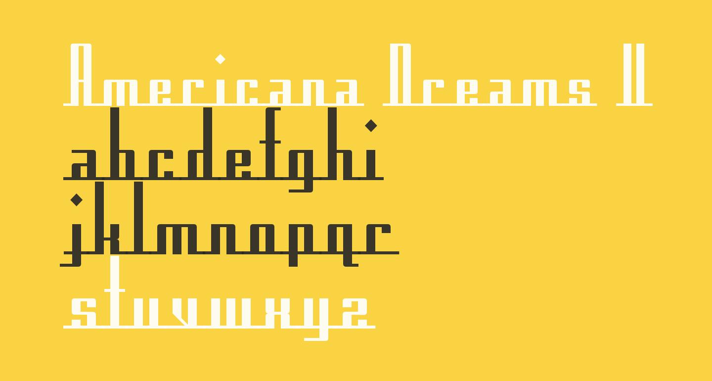 Americana Dreams Upright