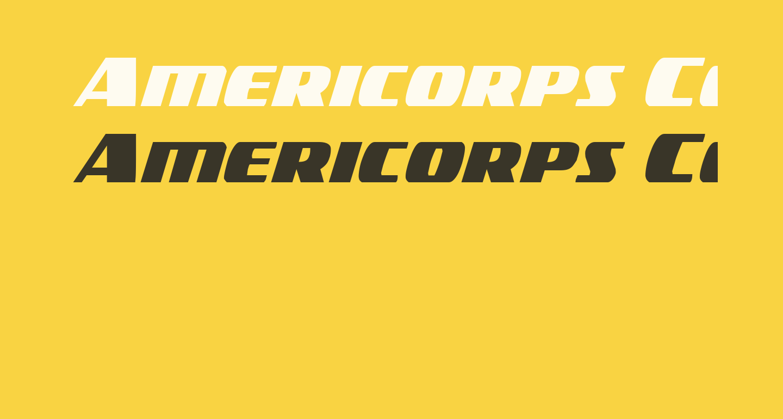 Americorps Condensed