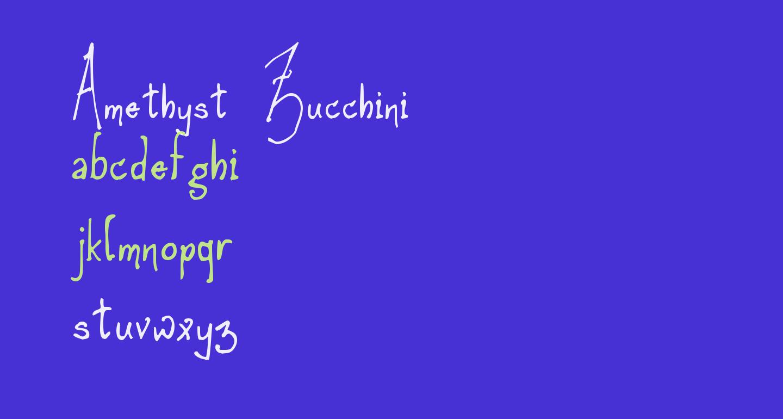 Amethyst Zucchini
